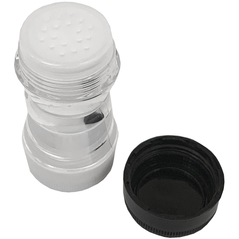 GSI Salt + Pepper Shaker - Pepper lid unscrewed