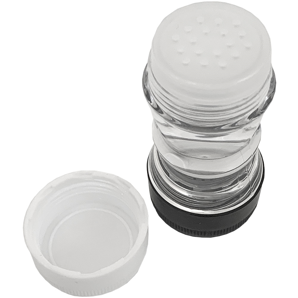 GSI Salt + Pepper Shaker - Salt lid unscrewed