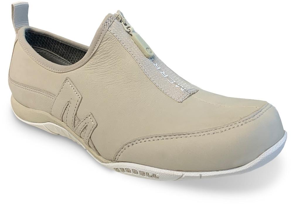 Merrell Barrado Saybrook Zip Leather Women's Shoe Oyster
