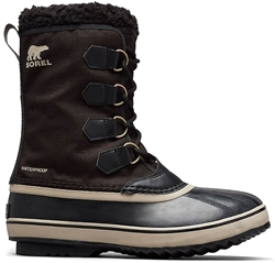 Sorel 1964 Pac Nylon Men's Boot - Black Ancient Fossil