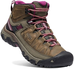 Keen Targhee III WP Mid Wmn's Boot Weiss Boysenberry