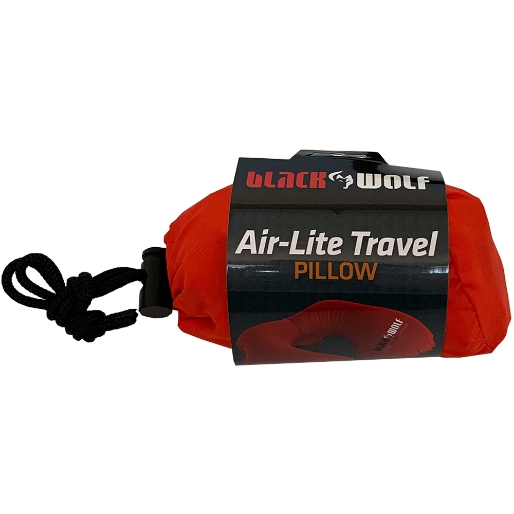 Black Wolf Air-Lite Travel Pillow True - Packaging