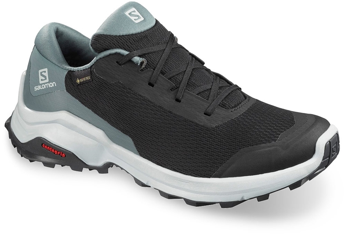 Salomon X Reveal GTX Wmn's Shoe Black Stormy Weather Ebony