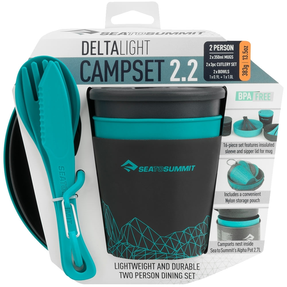 Sea to Summit Delta Light Camp Set 2.2 - Packaged