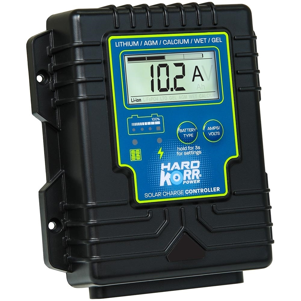 Hard Korr 15 Amp Waterproof PWM Smart Solar Regulator