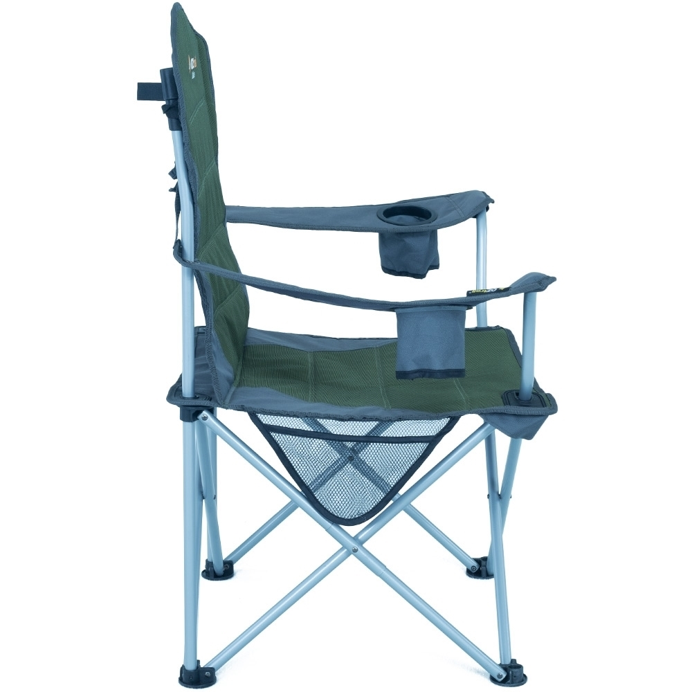 Oztrail Deluxe Arm Chair - Side Organizer Pocket