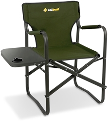 OZtrail Directors Classic Chair & Side Table