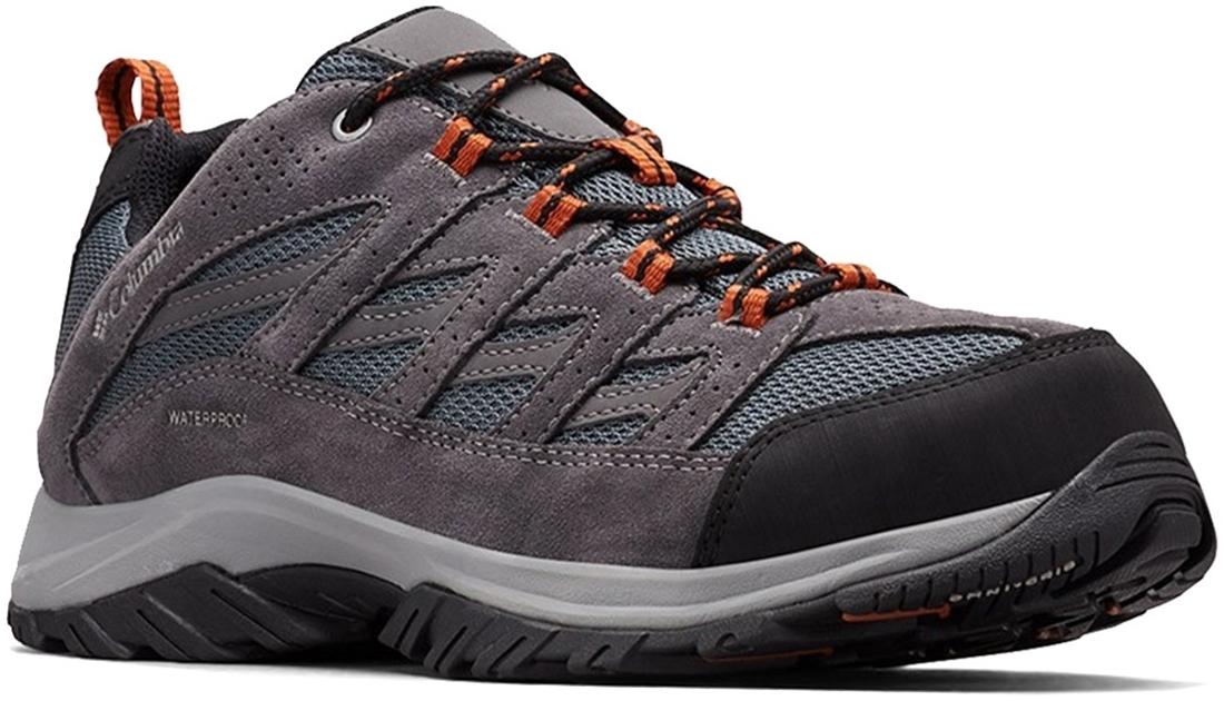 Columbia Crestwood WP Men's Shoe Graphite Dark Adobe