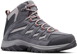 Columbia Crestwood Mid WP Wmn's Boot Graphite Daredevil