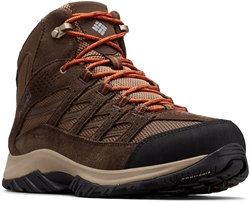 Columbia Crestwood Mid WP Men's Boot Dark Brown Dark Adobe