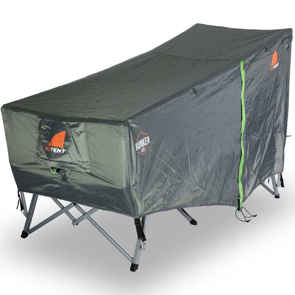 Oztent Bunker Lite Stretcher Tent - Foot End
