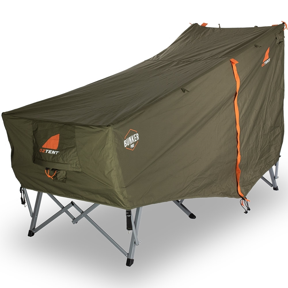 Oztent Bunker Pro Stretcher Tent - Foot End