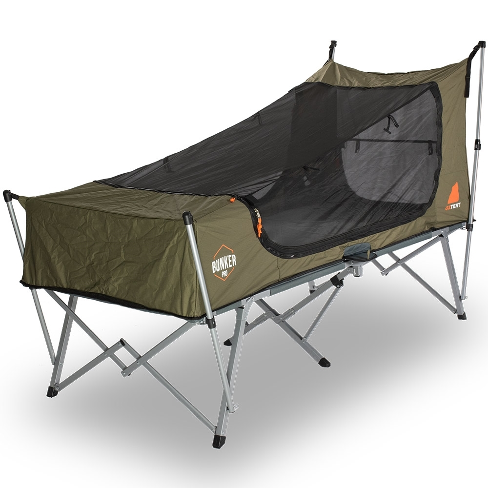 Oztent Bunker Pro Stretcher Tent - Foot End - No Fly