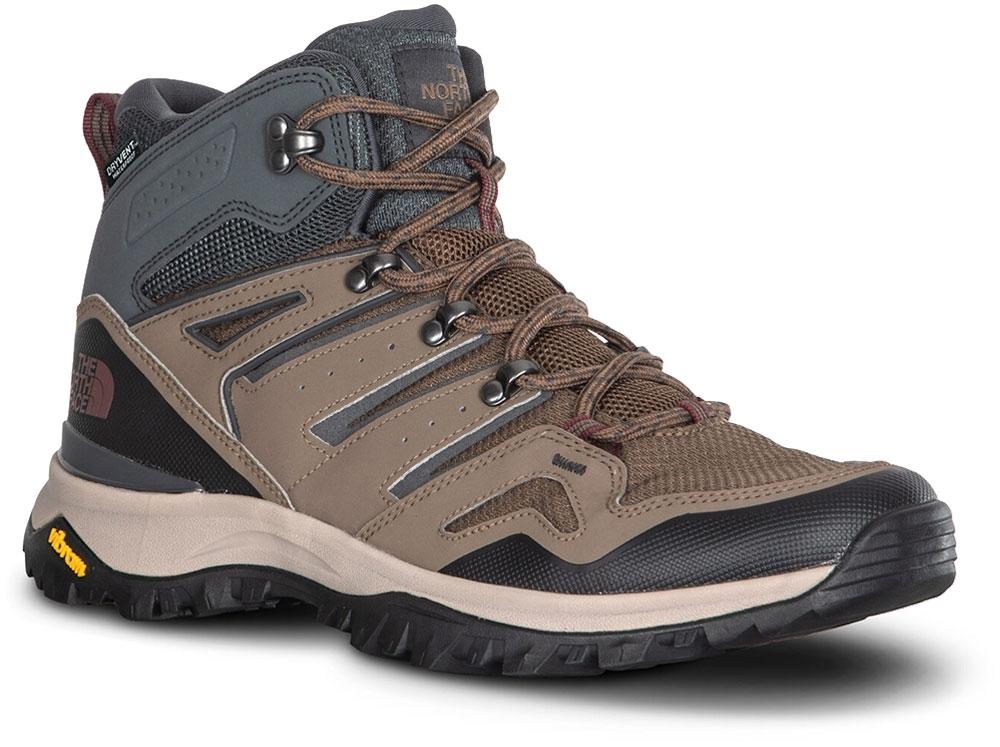 TNF Hedgehog Fastpack II Mid WP Men's Boot Bipartisan Brown Dark Shadow Grey