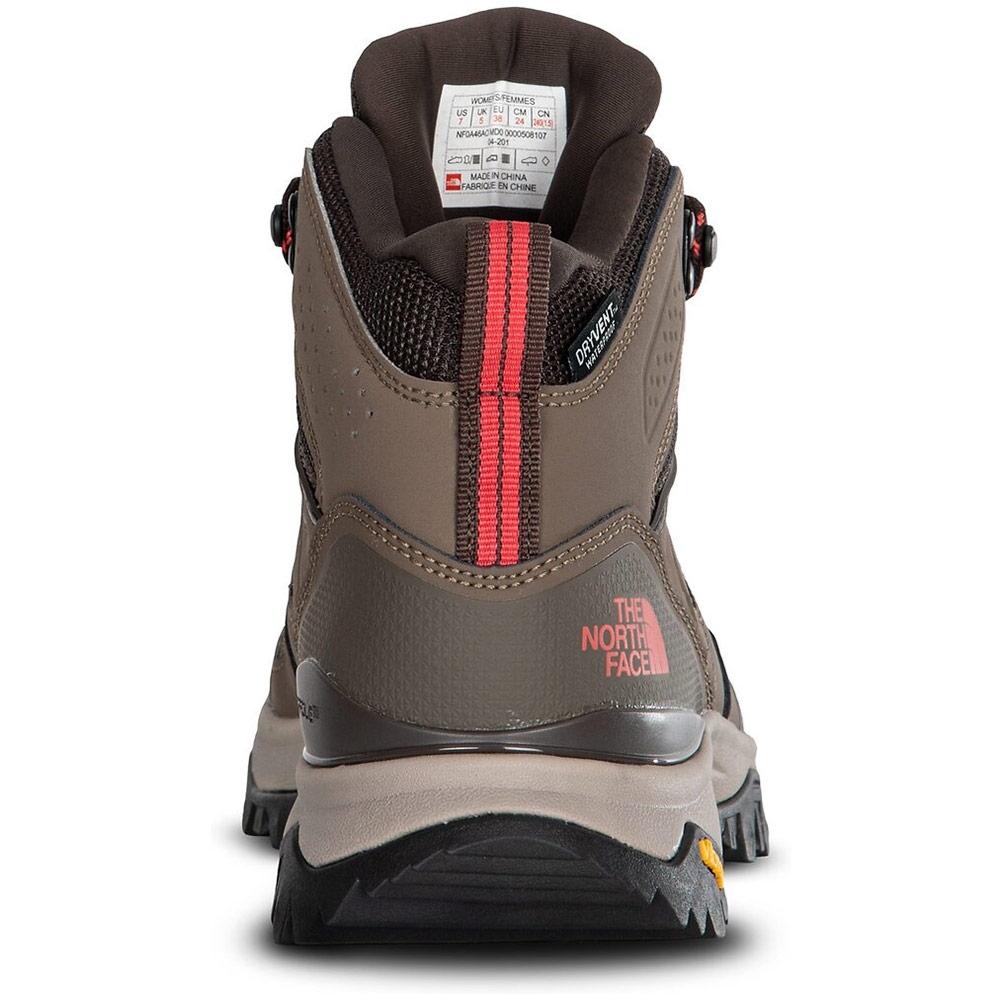 TNF Hedgehog Fastpack II Mid WP Wmn's Boot - CRADLE™ Heel-Stability