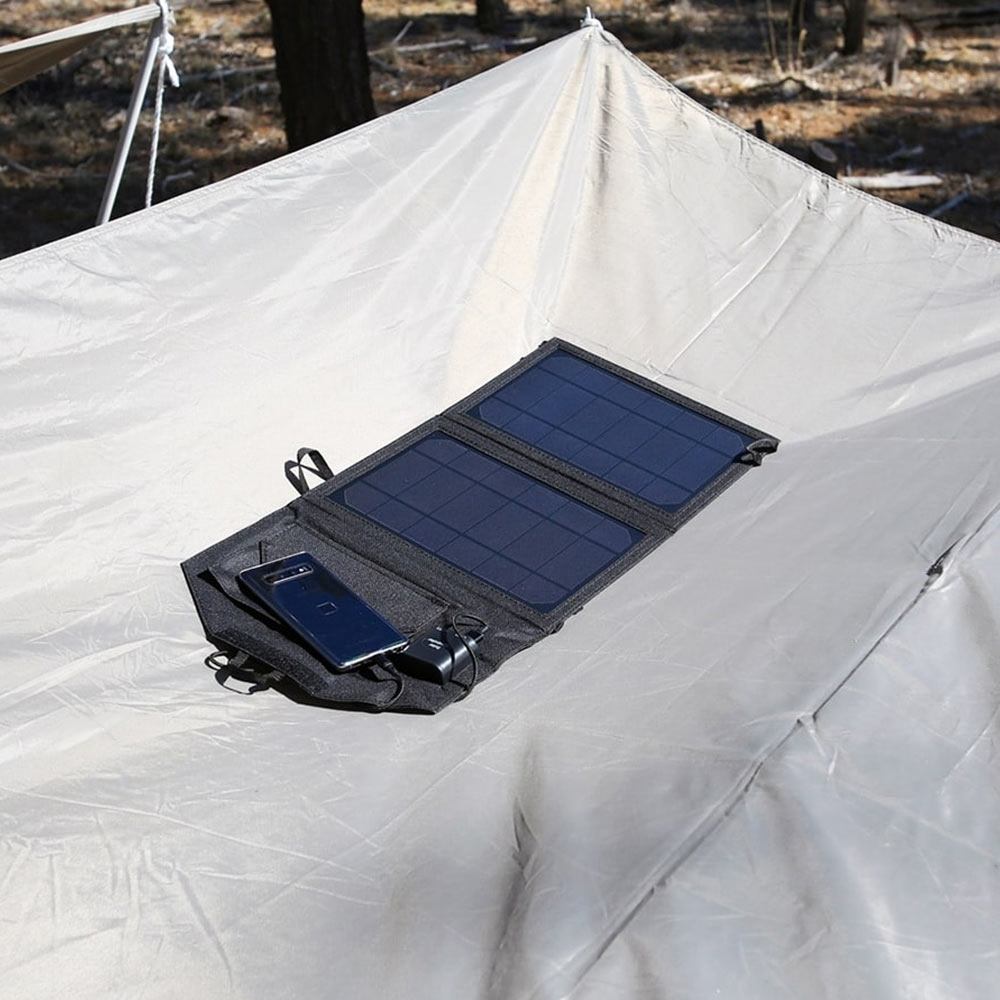 Hard Korr 15W Personal Solar Panel in Sun
