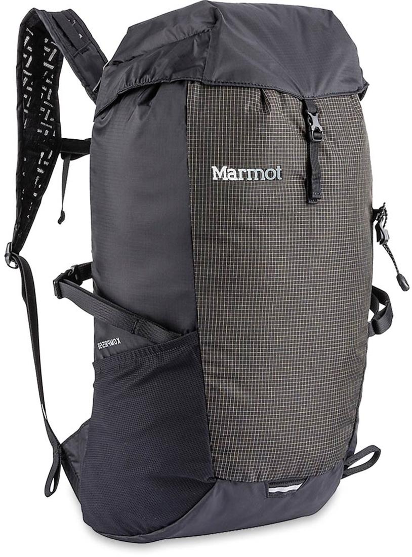 Marmot Kompressor 18L Daypack Black Slate Grey