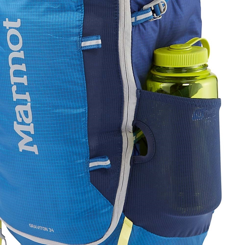 Marmot Graviton 34L Backpack - Water Bottle / Gear Pockets