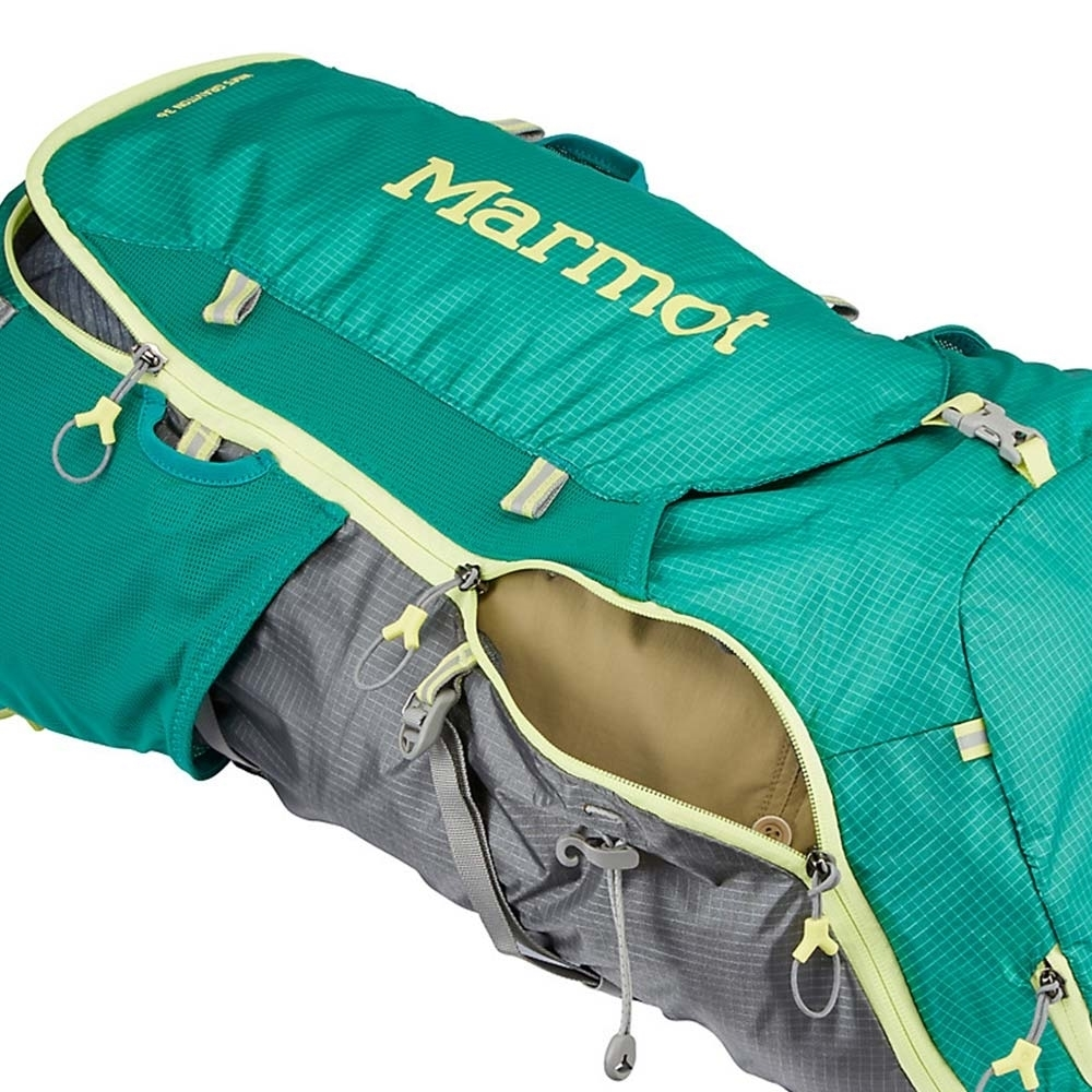 Marmot Graviton 36L Wmn's Backpack - Wrap Around Zipper w/ Multiple Sliders for Easy Access to Main Compartment
