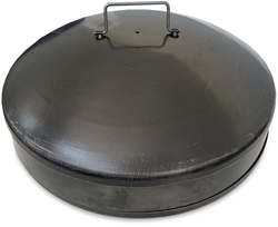 Hillbilly Black Steel Compact Fire Dish