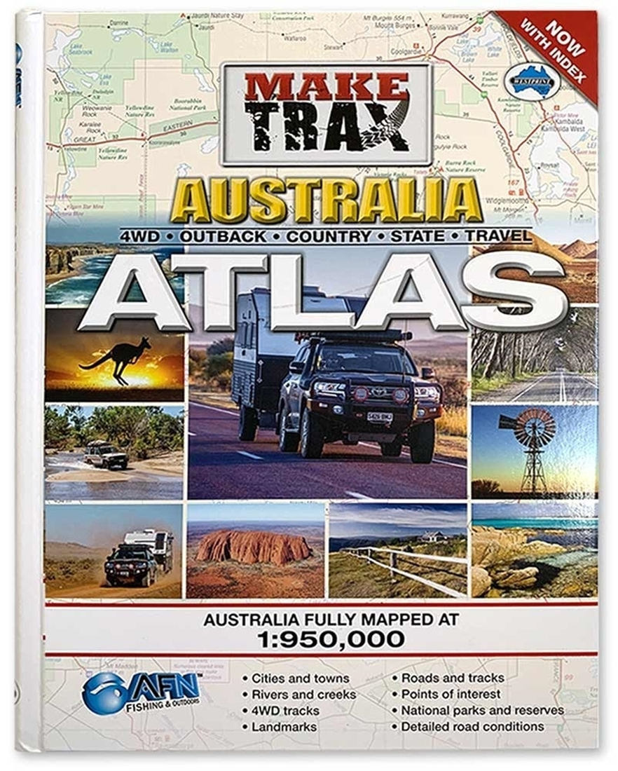 AFN Make Trax Australia Maxi Atlas with Index