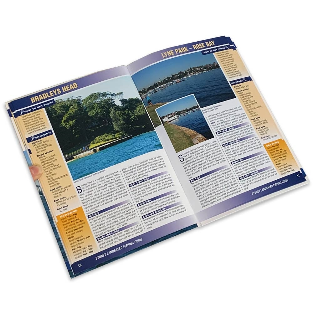 AFN Landbased Fishing Guide to Sydney Area