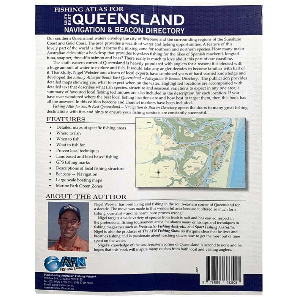 AFN Fishing Atlas for South East Queensland