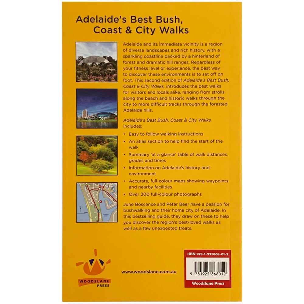 Woodslane Press Adelaide's Best Bush, Coast & City Walks