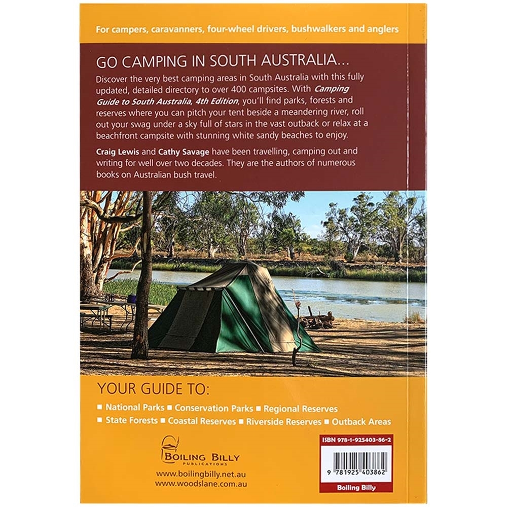 Boiling Billy Camping Guide to South Australia