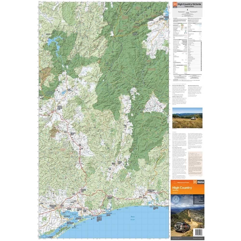 Hema High Country Victoria Map