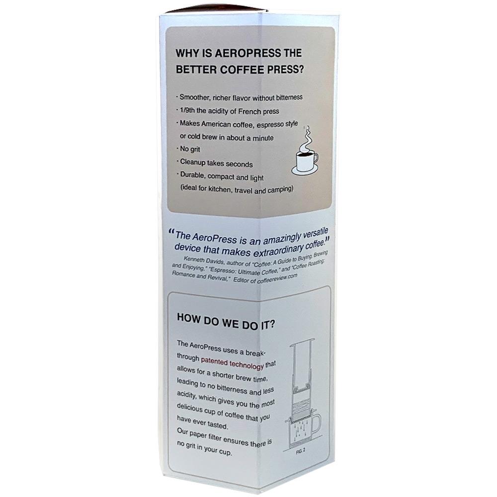 AeroPress Portable Coffee Maker - Packaging