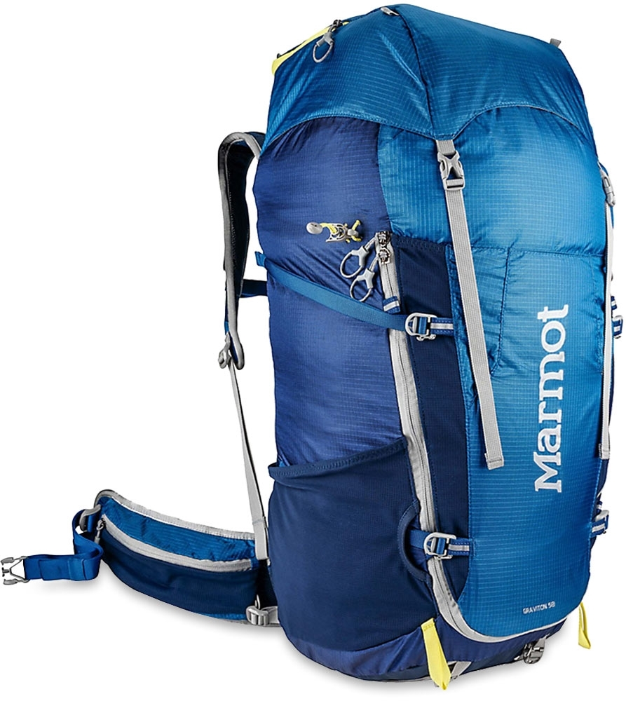 Marmot Graviton 58L Backpack Blue Night Dark Ink