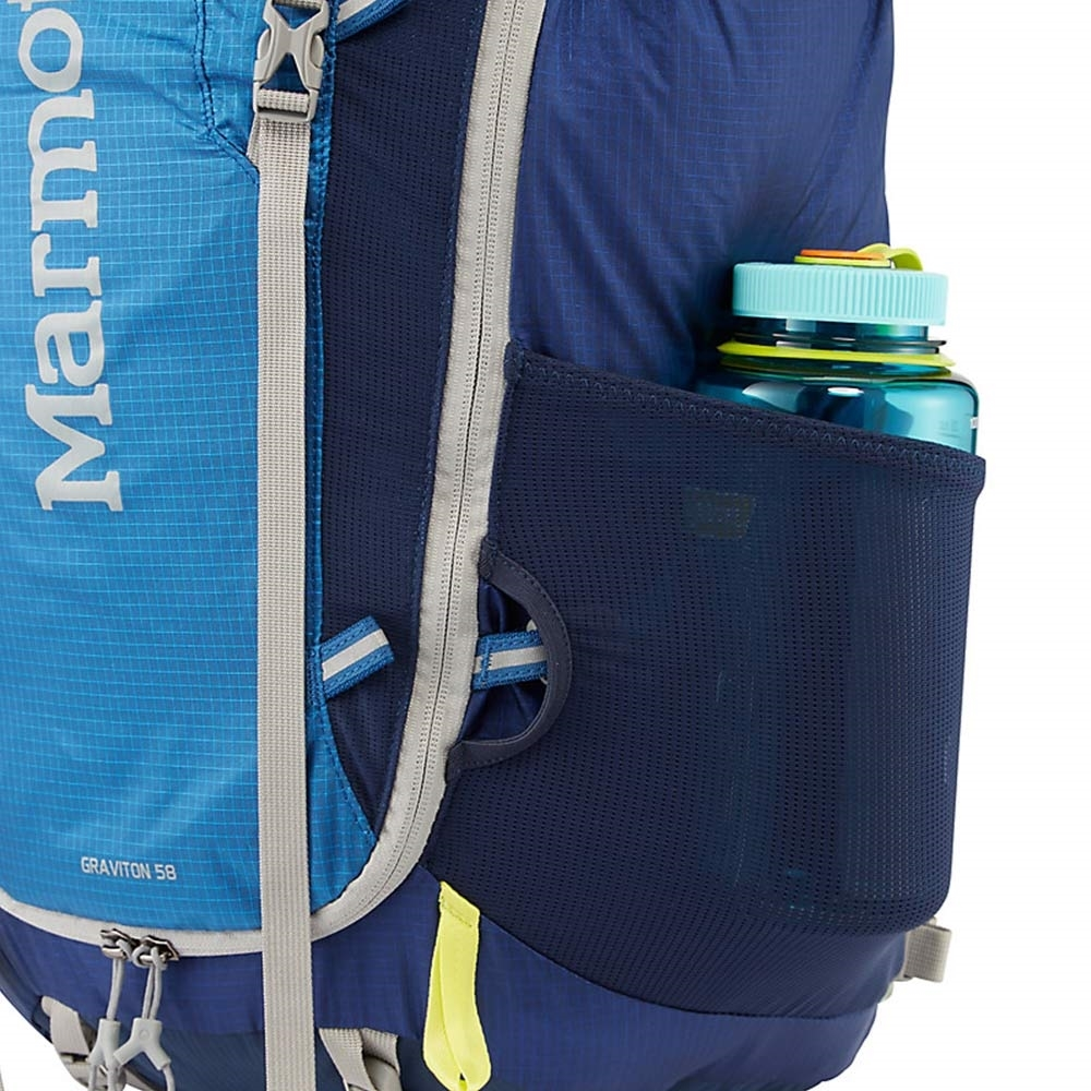 Marmot Graviton 58L Backpack  - Water Bottle / Gear Pockets