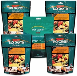 Back Country Cuisine 2 Person Vegetarian Pack