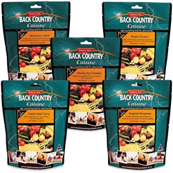 Back Country Cuisine 2 Person Classic Favourites Pack