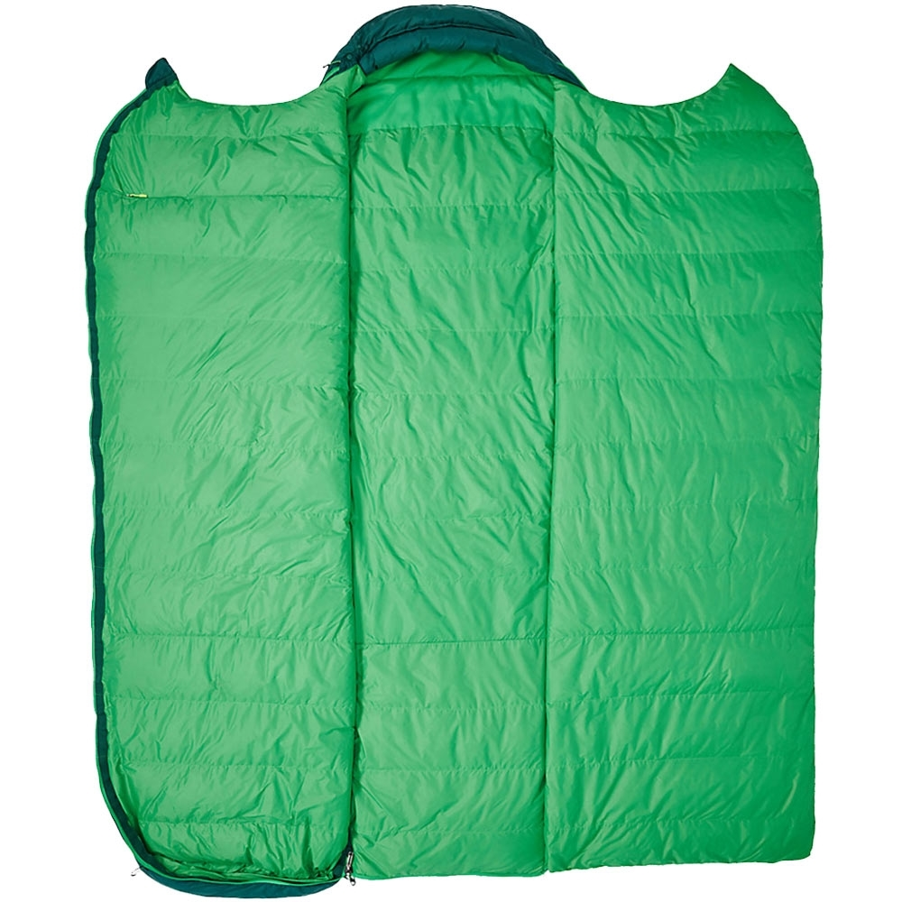 Marmot Yolla Bolly 30 Sleeping Bag - Opens fully to become a Quilt