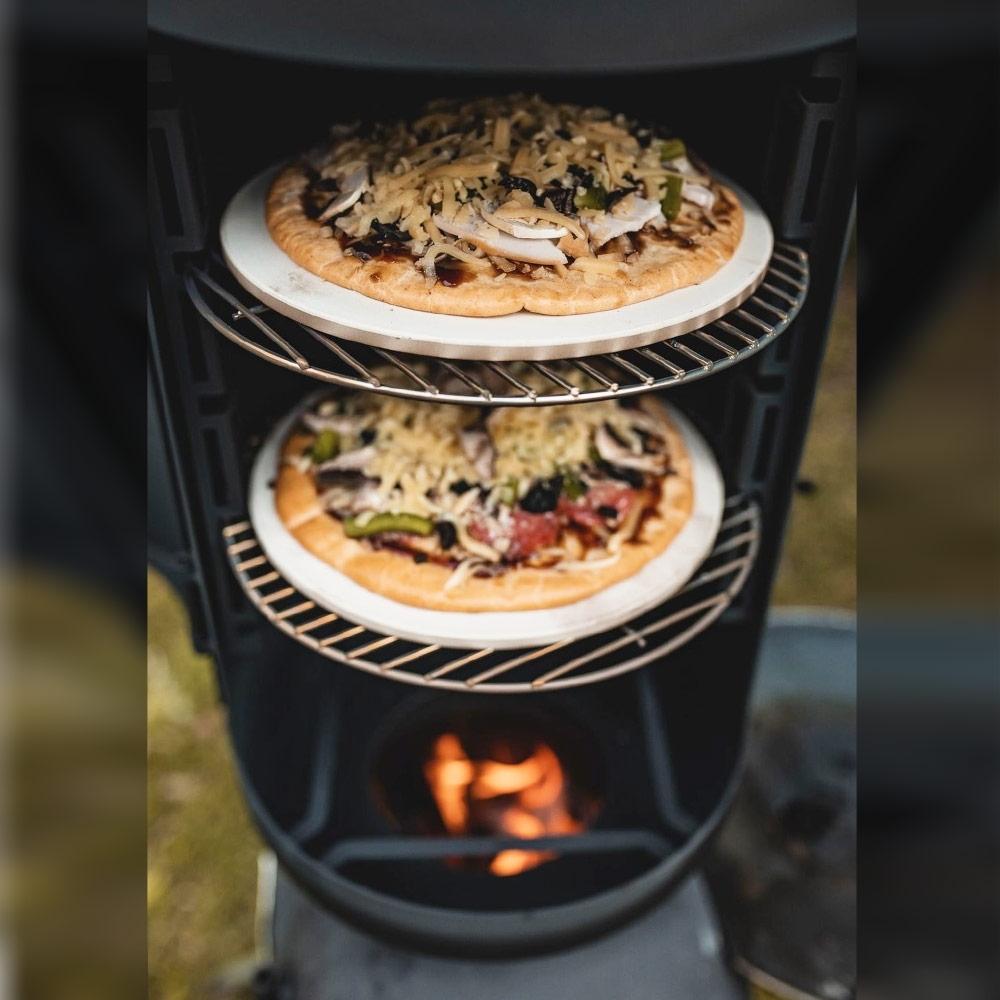 "Ozpig Oven Smoker 9"" Pizza Stone"
