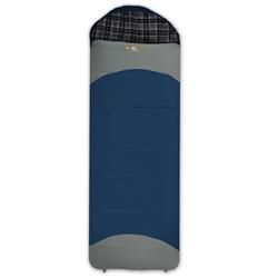 Oztrail Alpine View Hooded Sleeping Bag - Blue