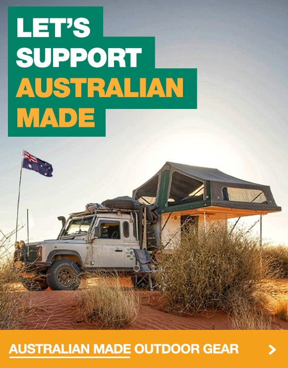 Support Aussie Made Camping and Outdoor Gear