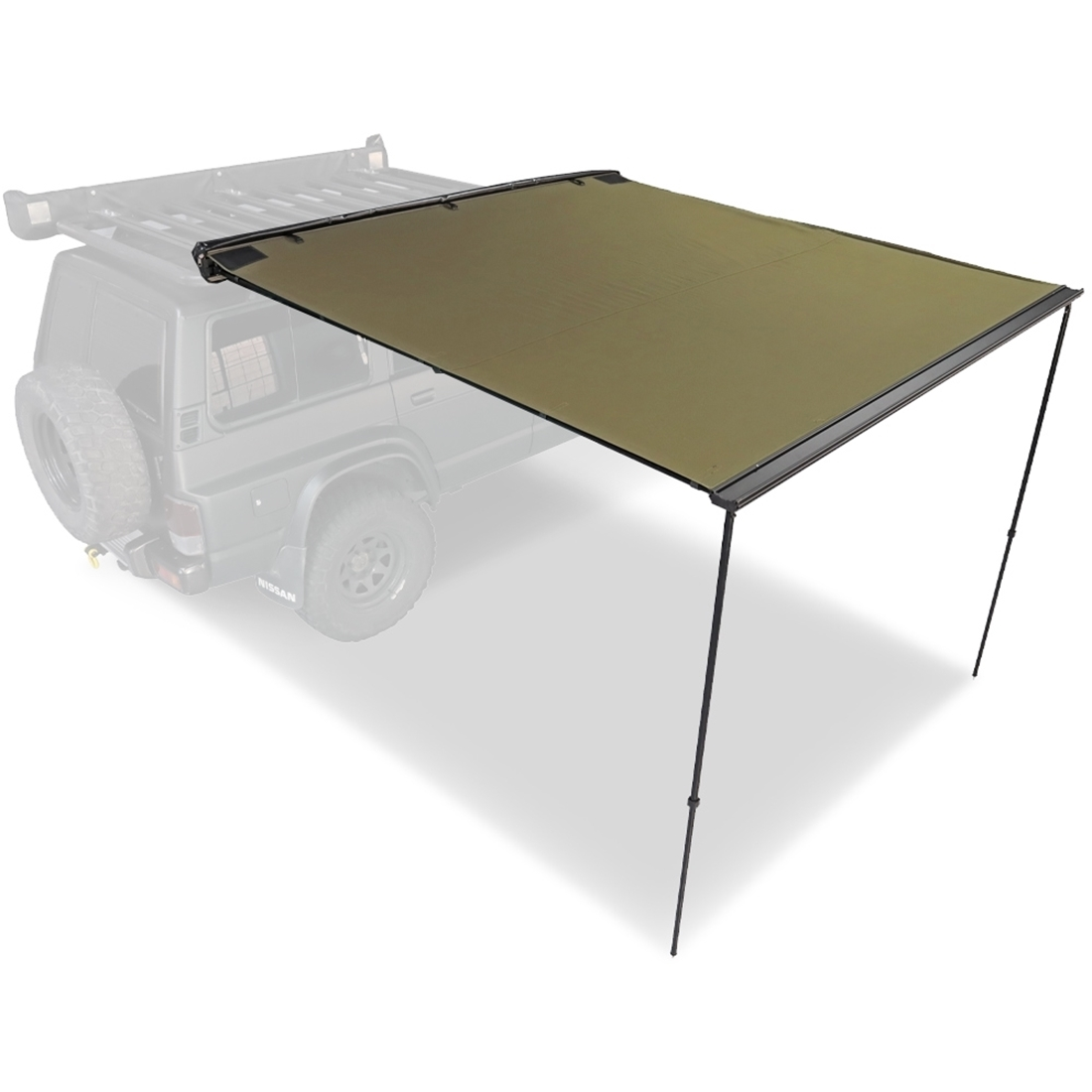 23ZERO Raven 2500 Side Pull Out Awning with LST 2.5 x 2.5m