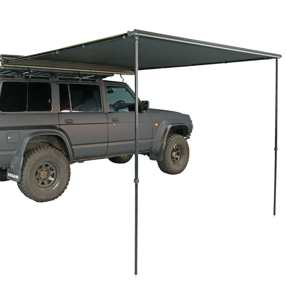 23ZERO Raven 2500 Side Pull Out Awning with LST 2.5 x 2.5m - LST coating diffuses light and UV rays