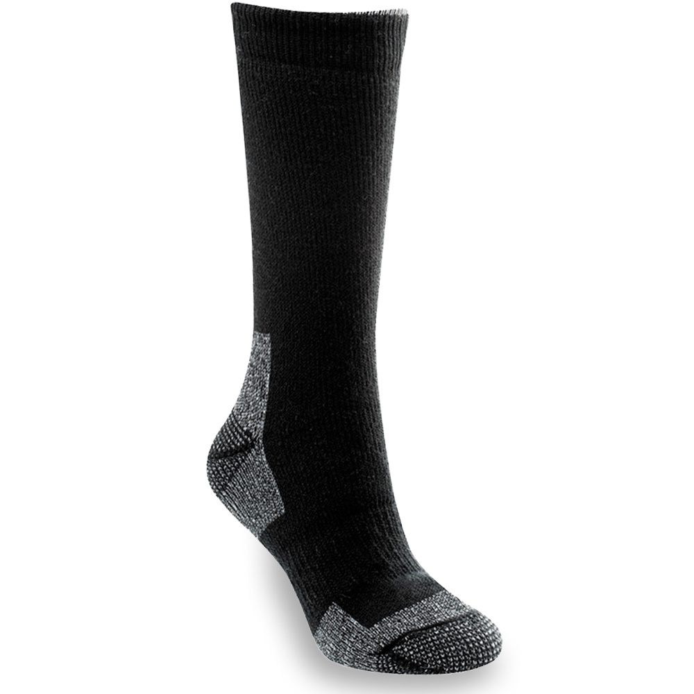 ThermaTech Outdoor Crew Sock Black Charcoal