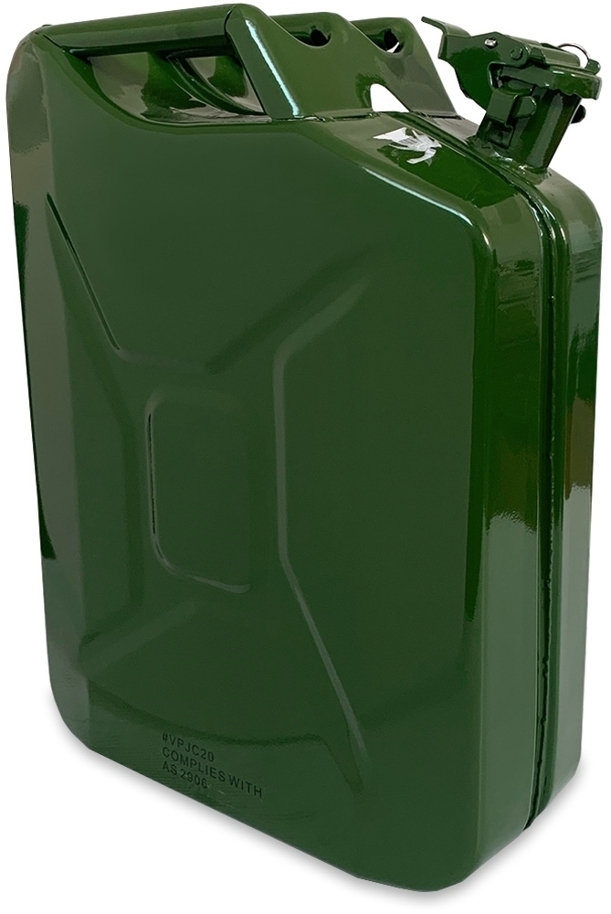 MB Agencies Steel Fuel Petrol Diesel Jerry Can 20L