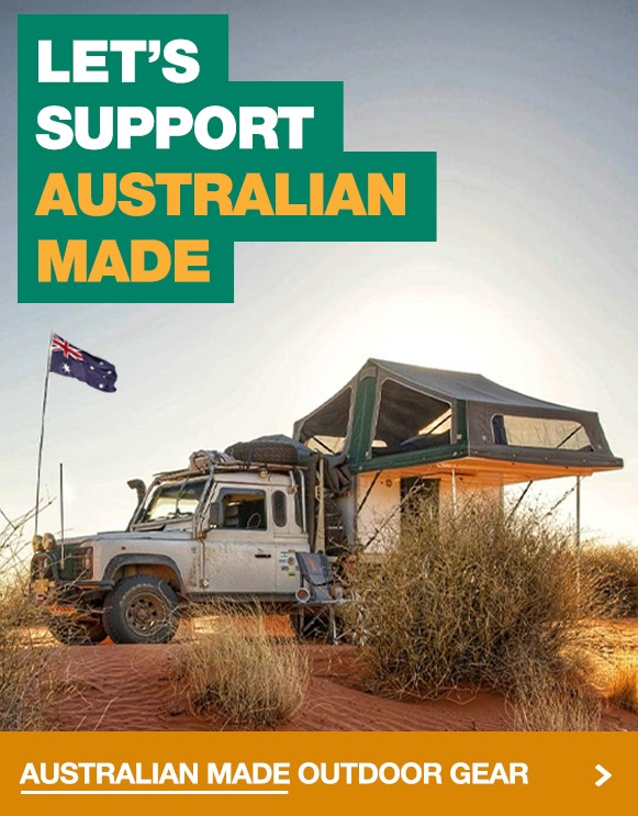 Let's support Australian made camping and outdoor gear