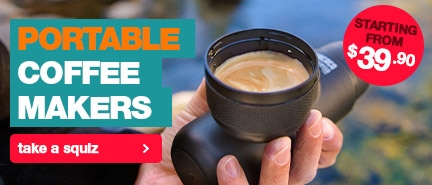 Portable coffee makers for a delicious brew, no matter where you are