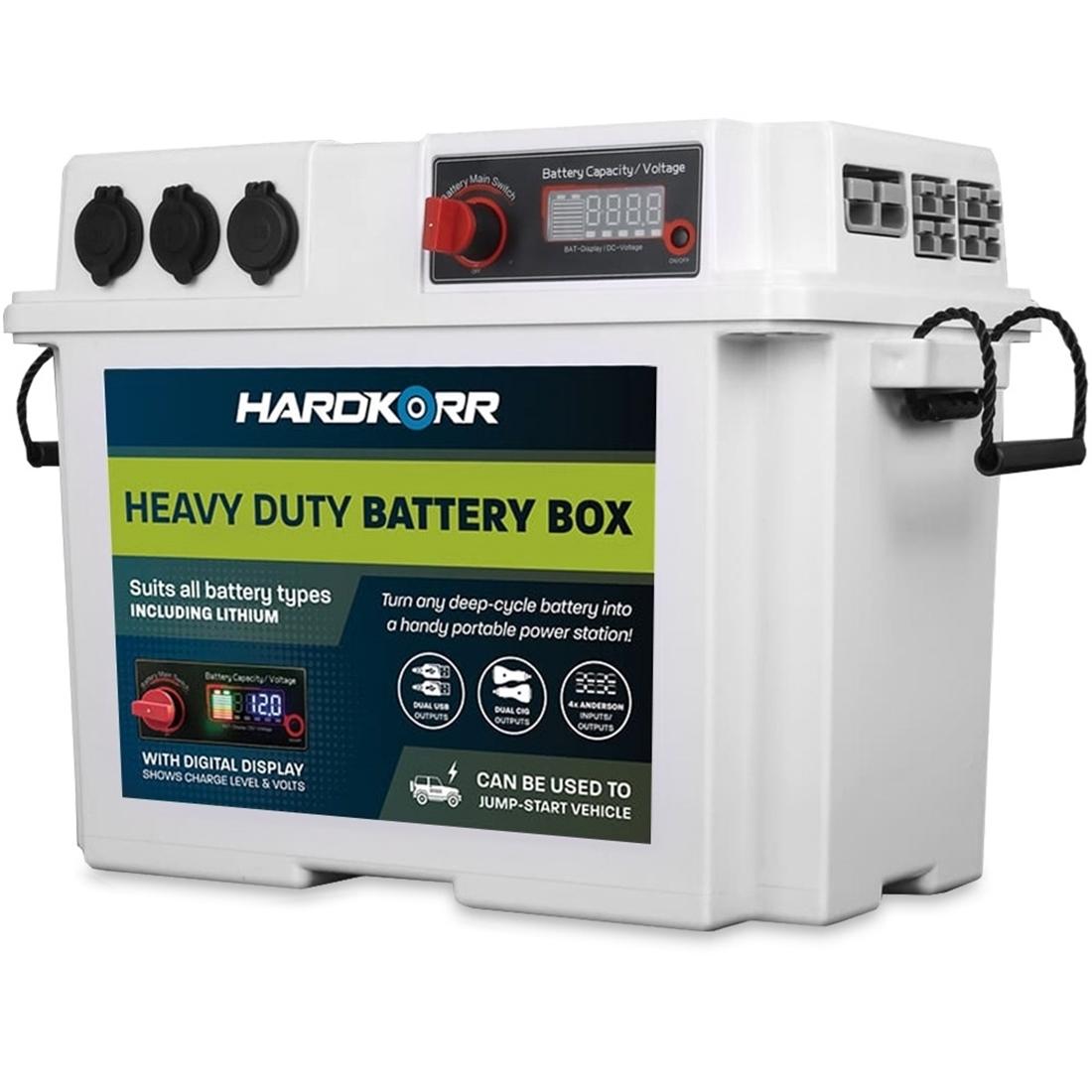 Hard Korr Heavy Duty Battery Box White