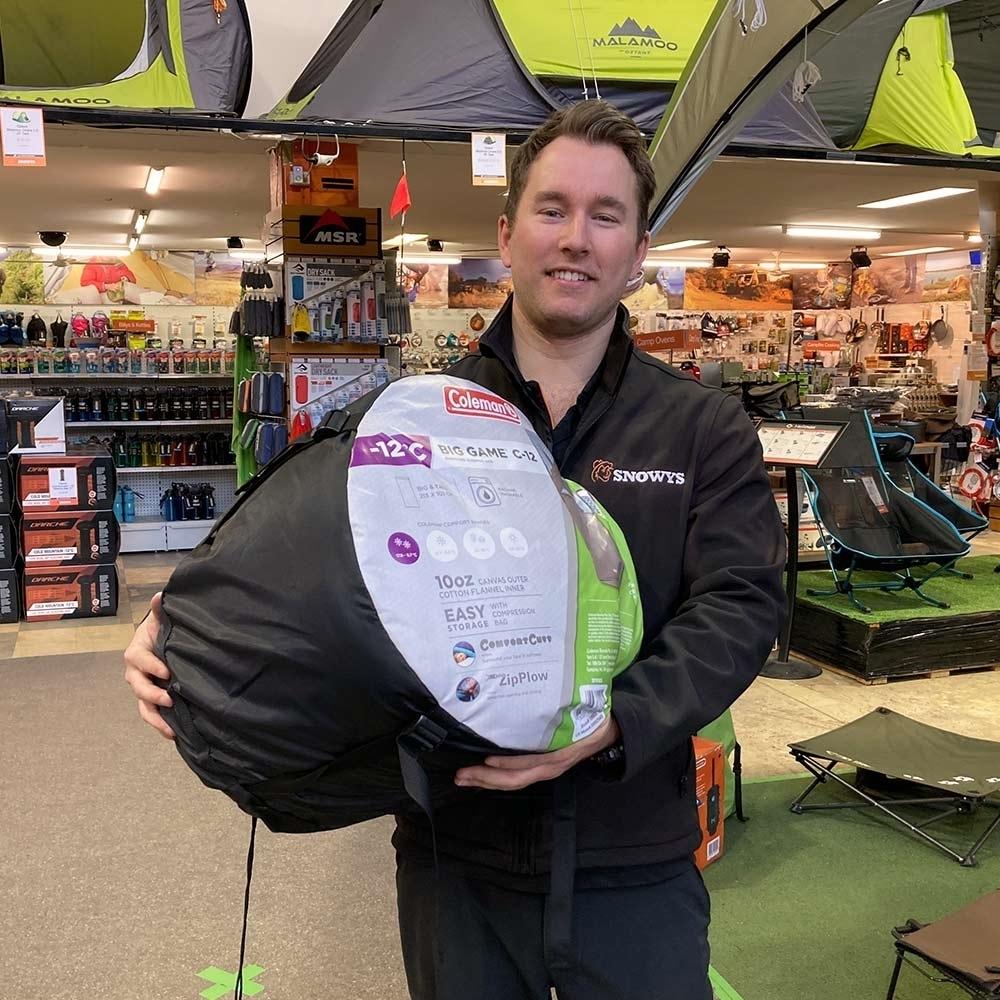 Coleman Big Game Deluxe C-12 Sleeping Bag