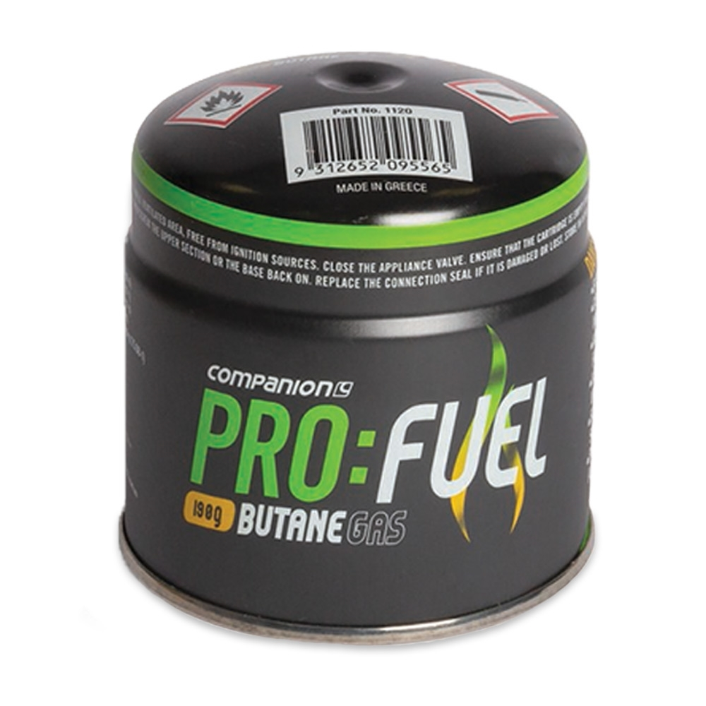 Companion Pro:Fuel Piercable Butane Gas 190g