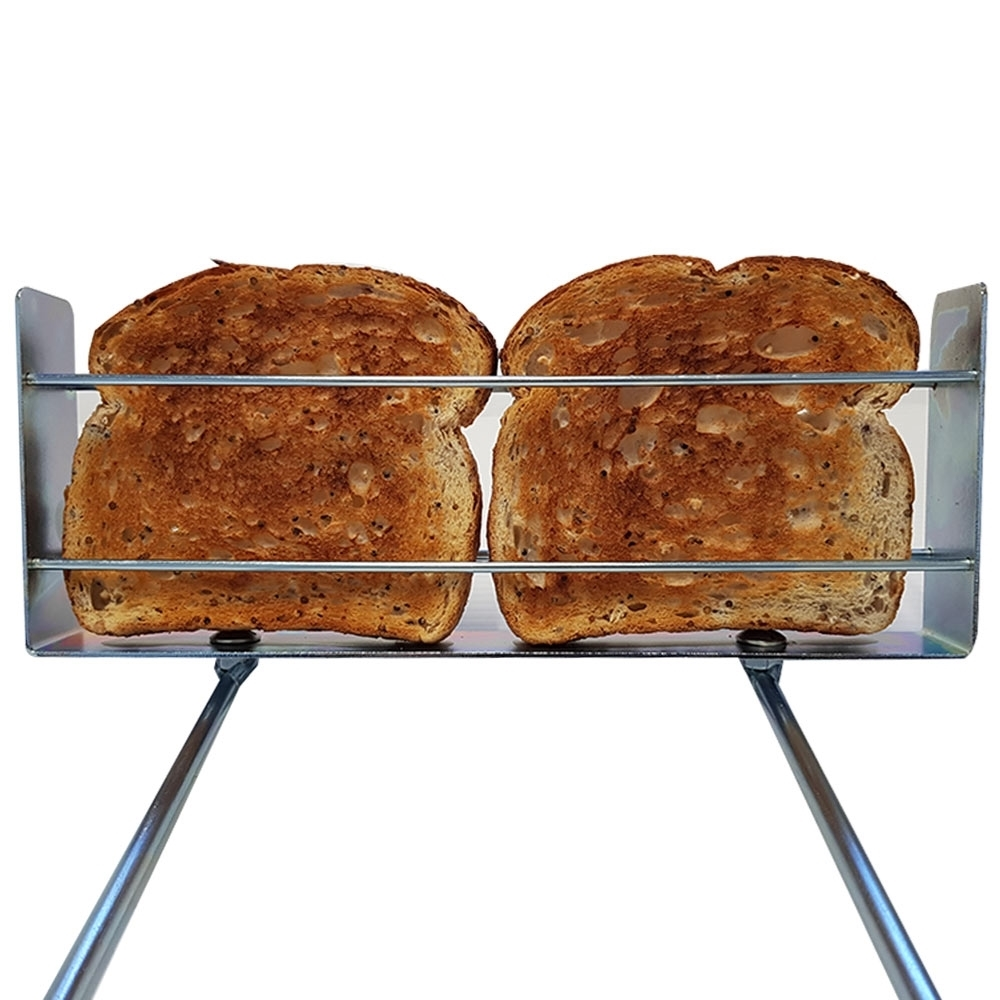 Hillbilly Turnaround Toaster - Fits 2 pieces of bread securely
