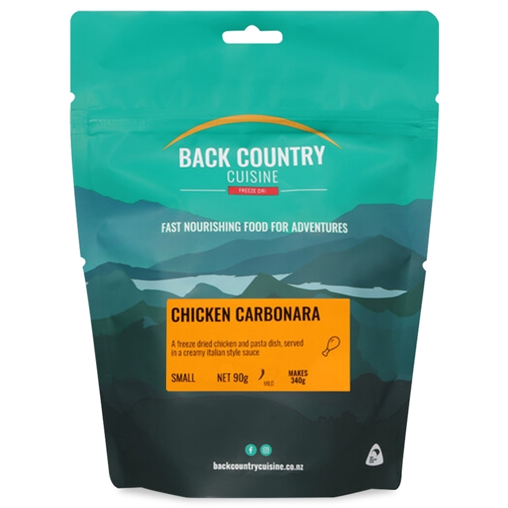 Back Country Cuisine Chicken Carbonara